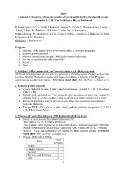 Zápis z VV KSH 5.3.2015 - Krajské sdružení hasičů
