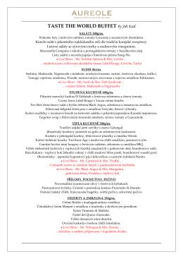 silvestr aureole 31. 12. 2015 menu