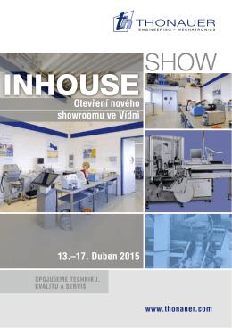 Thonauer Inhouse Show