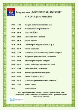 Program akce - Asociace pro interkulturní práci