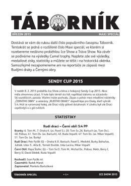 Táborník Maxi Speciál 2015
