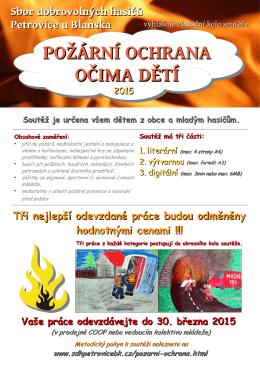 Požární ochrana očima dětí 2015