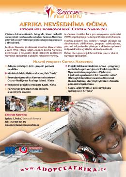 AFRIKA NEVŠEDNÍMA OČIMA - Centrum sociální a ošetřovatelské
