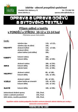 Iskerka _opravy_odevu