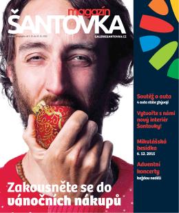 Stáhnout magazín - Galerie ŠANTOVKA