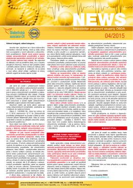 Newsletter è. 4/2015