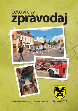 červen 2015 - Městské kulturní středisko Letovice