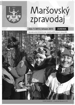 Maršovský zpravodaj 1-2015