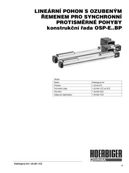 Konstrukce OSP