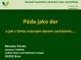 Ing. Miroslav Florián, Ph.D.