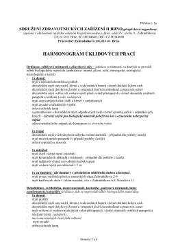 Příloha 1a - Sdružení zdravotnických zařízení II Brno, příspěvková