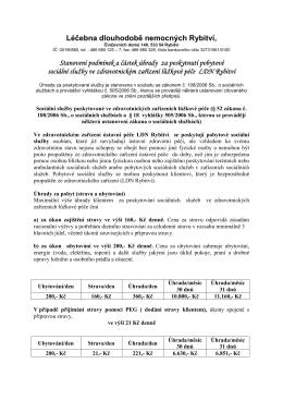 Stanovení podmínek úhrady platný od 25. 2. 2015