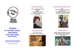 Program 2015/2016