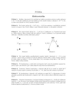 FYZIKA Elektrostatika