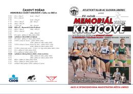 Propozice Memoriálu Zuzky Krejčové 2015