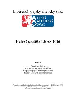 Liberecký krajský atletický svaz Halové soutěže