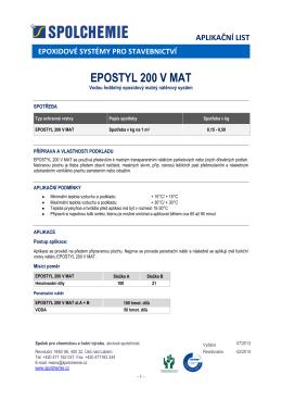 EPOSTYL 200 V - UNI