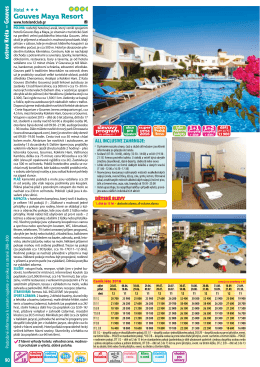 Gouves Maya Resort - Dovolená Kréta Heraklion 2016