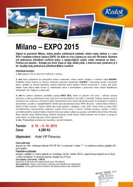 Milano – EXPO 2015
