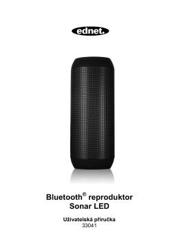 Bluetooth ® reproduktor Sonar LED Uživatelská příručka