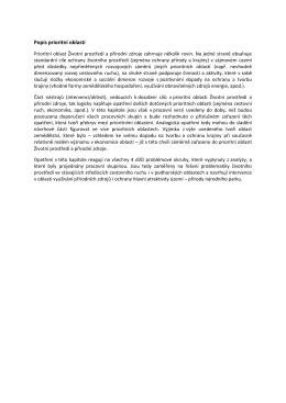 Popis prioritní oblasti - Regionální rozvoj Krkonoše