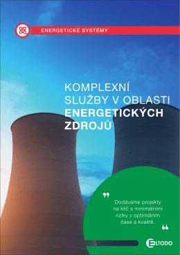 komplexní služby v oblasti energetických zdrojů
