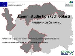 Územní studie horských oblastí
