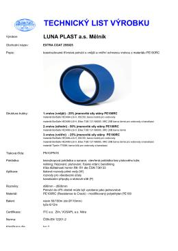 TL255025EC - LUNA PLAST as