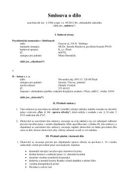SoD s vítězem.docx - Psychiatrická nemocnice v Dobřanech