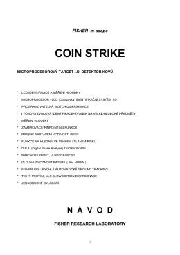 COIN STRIKE - Detektory kovů