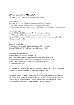 Manuál pro PRODEJCE.Mikuláš 2015