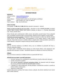 clovicek_tabor2015_informace