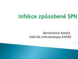 Stav rezistence na antibiotika v komunitě Zlínského kraje u infekcí