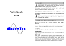 MT23-S cz