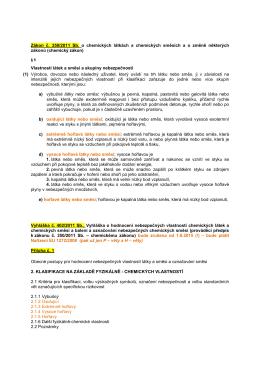 B-kategorie nebezpečí podle směrnice EU 1272