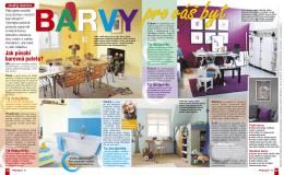Překvapení č.17 - Barvy pro váš byt