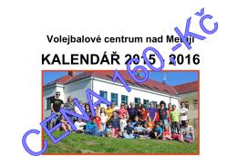 KALENDÁŘ 2015 - 2016 - Volejbalové centrum