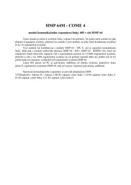HMP 64M - COME 4