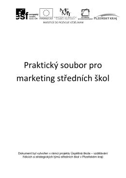 Praktický soubor pro marketing středních škol