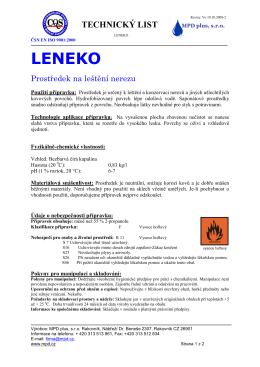 LENEKO - vitalonga.cz