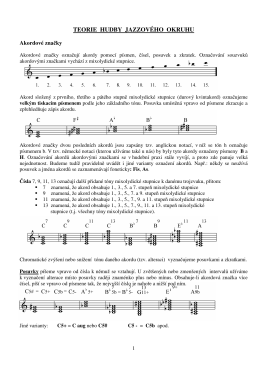 Skripta teorie jazzu