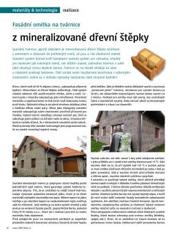 z mineralizované dřevní štěpky - m-m.cz