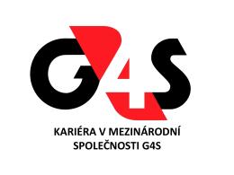 informační leták G4S Secure Solutions
