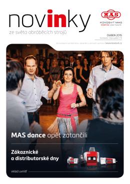 MAS dance opět zatančili