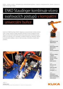 zpráva z praxe - KUKA Robotics