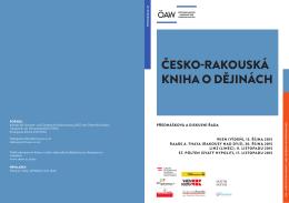 ČeskO-rakOuská kniha O děJinách - Österreichische Akademie der