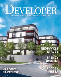 podoby města trendy bydlení neobvyklé stavby