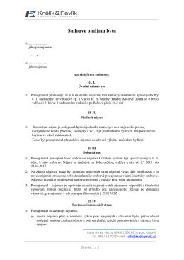 VZOR KE STAŽENÍ (od 1.1.2015)