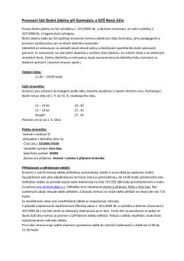Provozní řád školní jídelny ve formátu pdf
