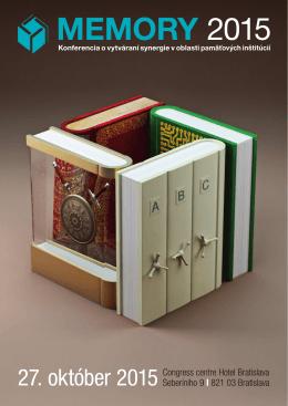 MEMORY 2015 - Slovenská asociácia knižníc